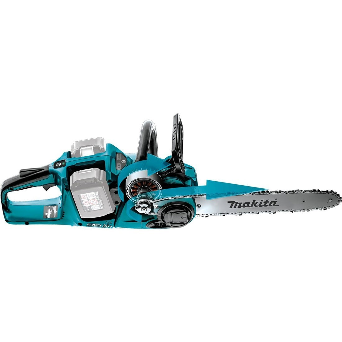 Makita DUH551Z Twin LXT 18v Bare Unit 36v Lithium Ion Hedge Trimmer