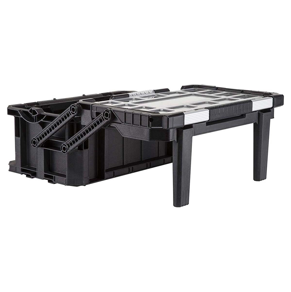 Keter ROC Cantilever Deep Organiser Tool Box Connect Pro