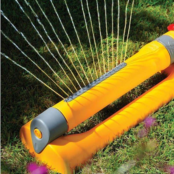 Hozelock Compatible Arroseur oscillant traîneau Base Jardin Tuyau Tube Raccord