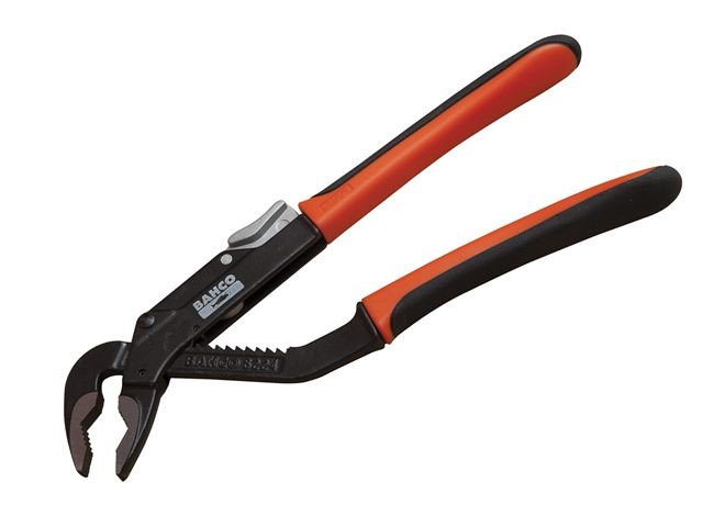 Slip Joint Pliers Flat Pipe Heavy Grip Jaw High Capacity Size Ratio Tool 250mm