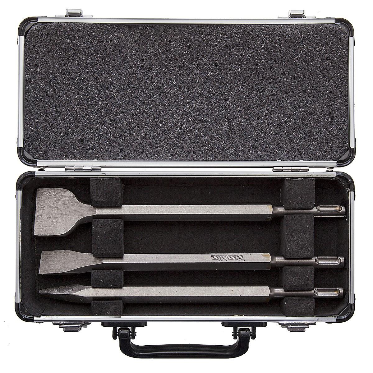 Drill Bit /& Chisel Set 10 Pièces En Aluminium étui Makita D-21191 SDS