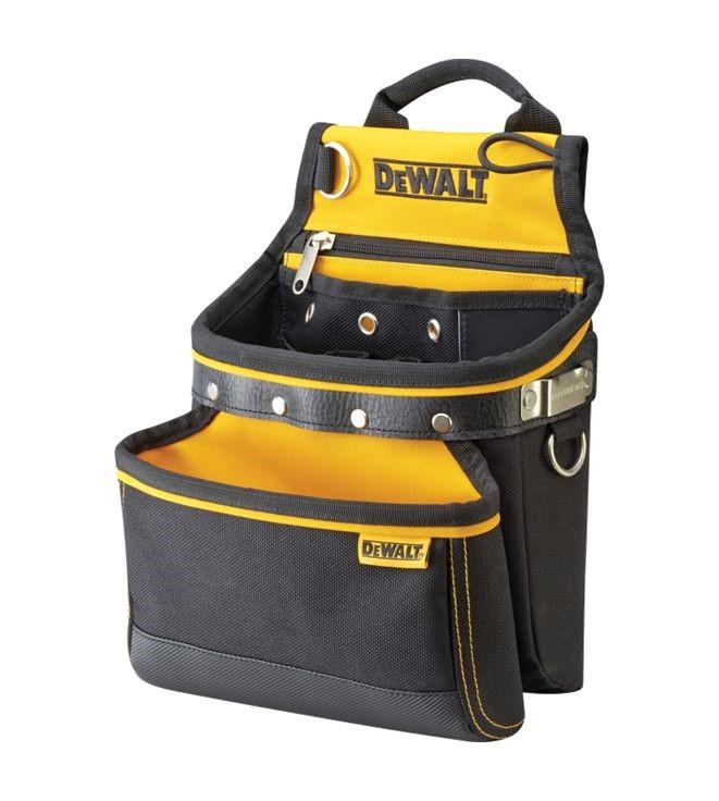 Cinturón de herramientas de trabajo pesado DeWalt DWST1-75651   DWST1 75551  bolsa y martillo bucle titular 41c303ff8057