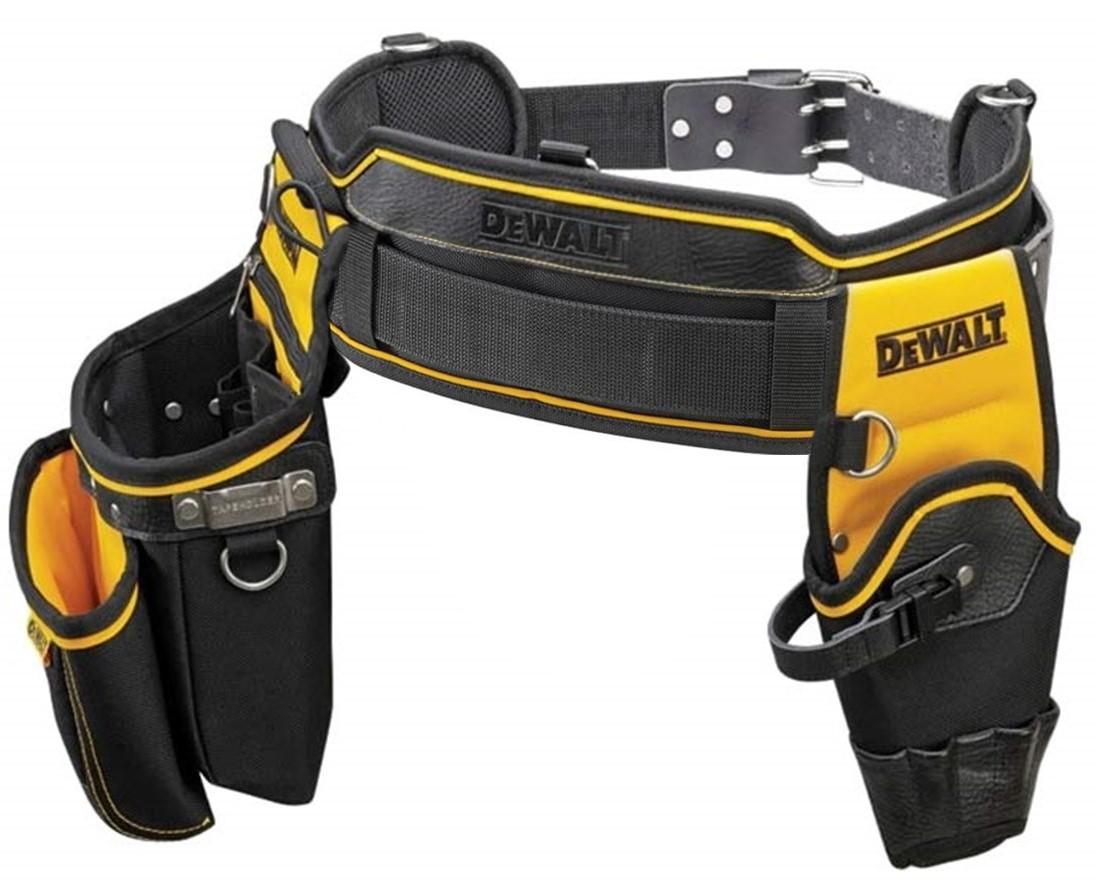 Cinturón de herramientas de trabajo pesado DeWalt DWST1-75651   DWST1 75551  bolsa y funda de la broca 00c15258998d