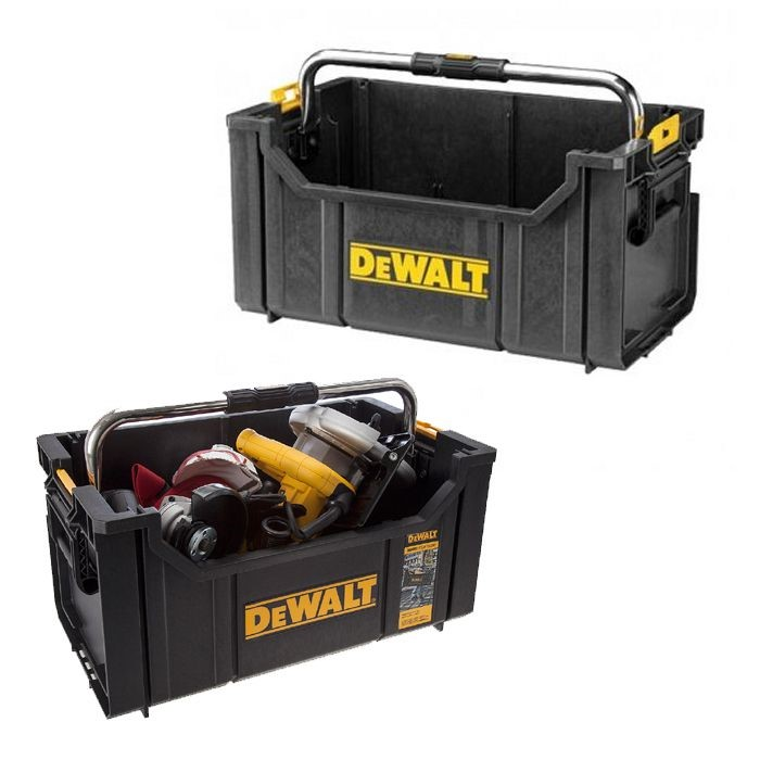 Dewalt DWST1-75654 Toughsystem Tool Open Tote Tool Box Carrier DS350 Twin Pack