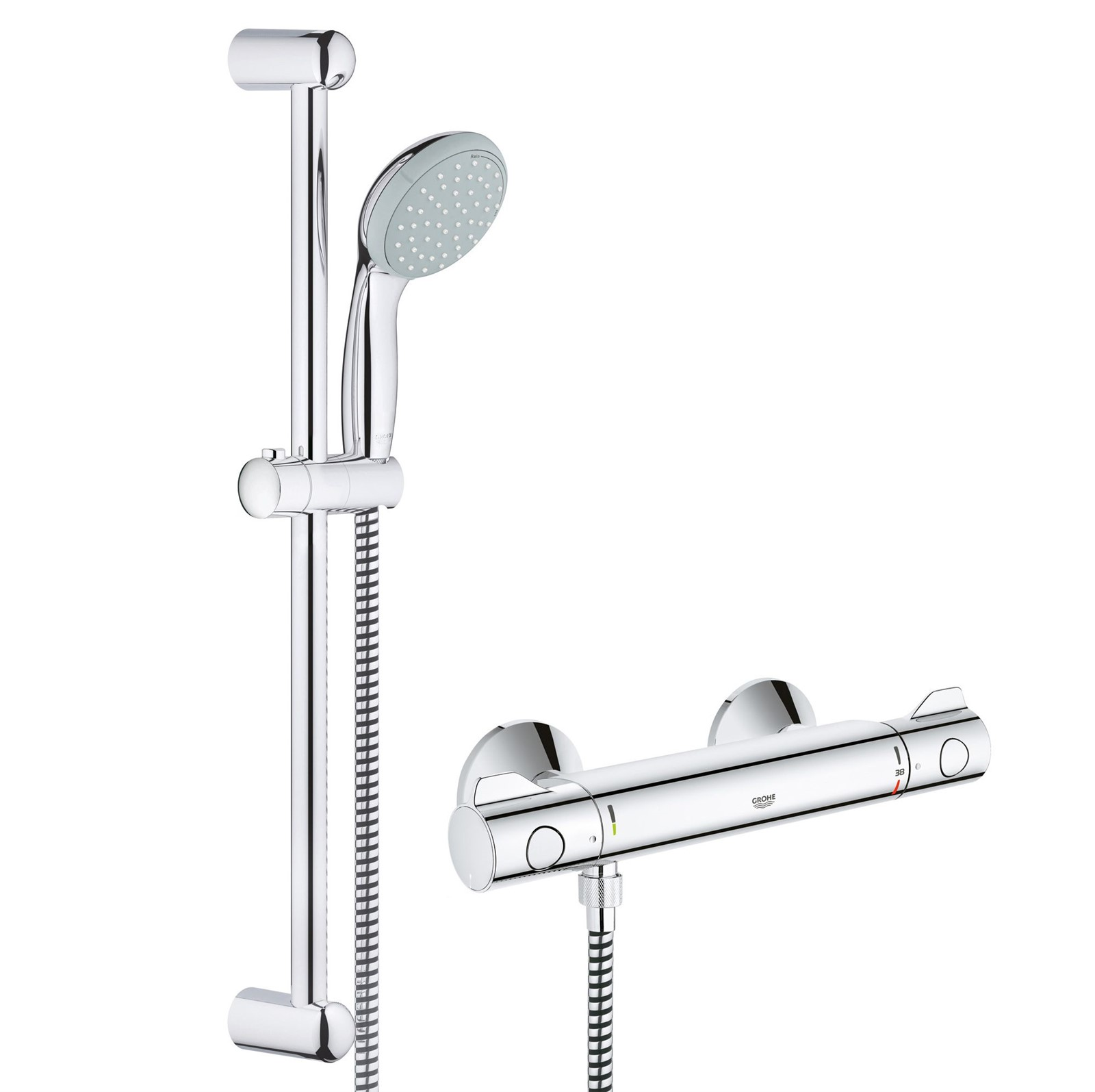 grohe grohtherm 800 mitigeur thermostatique bain douche. Black Bedroom Furniture Sets. Home Design Ideas