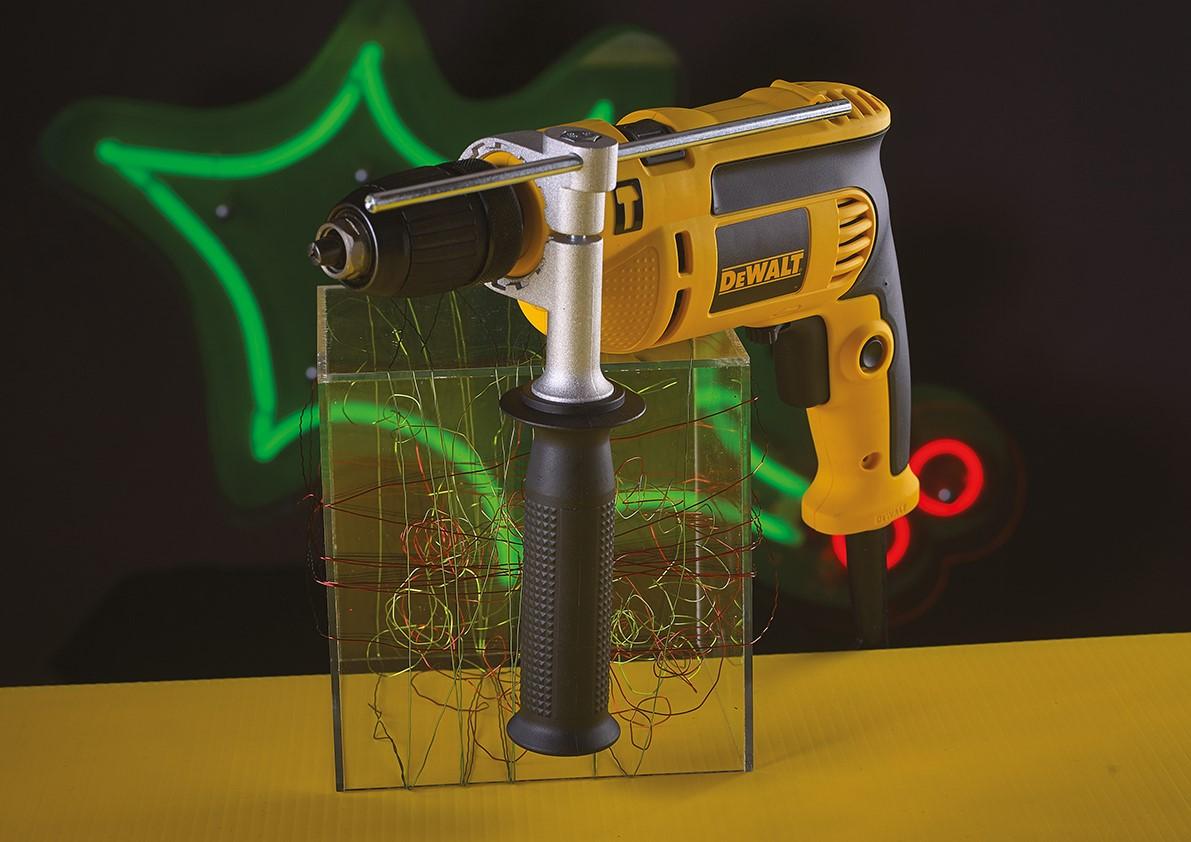 DeWalt DWD024K-GB D024K Percussion Drill Metal 13mm Chuck 240v 650w XMS18HAMMERD
