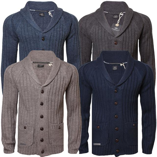 Mens-Knitwear-Top-Cardigan-Jumper-Wool-Mix-Sweater-Holmes-amp-Co-IMP026