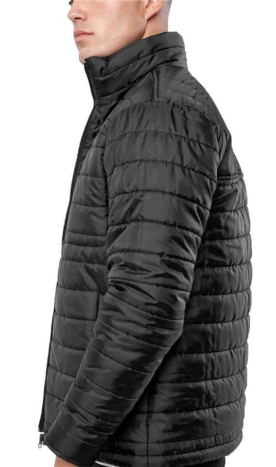 47cbbdbb4 Details about Mens Broken Standard Quilted MA1 Bomber Jacket Padded Coat  Winter Collar STAND