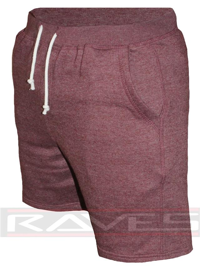 Mens Shorts Plain Sweat Gym Fashion Jogging Comfy Baggy Bottom Fleece Short 2347