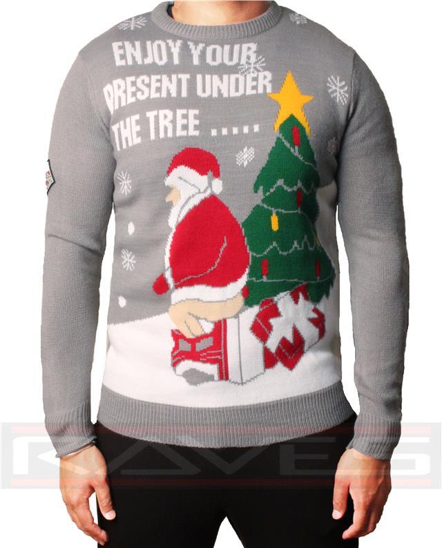 Ladies Unisex Mens Novelty Retro Christmas Jumpers Boucle Reindeer 3D Xmas Tops