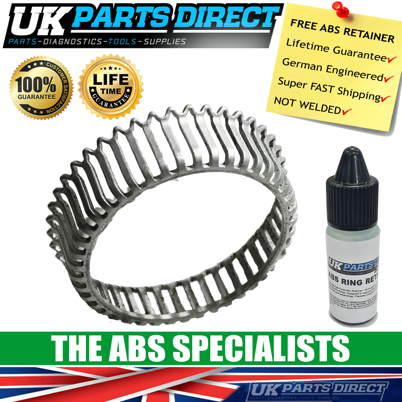 FORD MAVERICK ABS RING-ABS RELUCTOR RING-DRIVESHAFT ABS RING-CV JOINT ABS RING