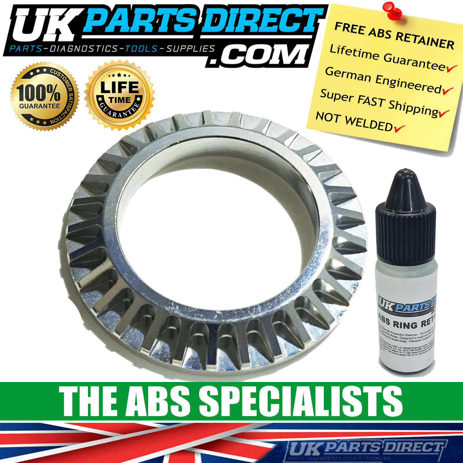 MITSUBISHI SPACESTAR ABS RING-ABS RELUCTOR RING-DRIVESHAFT ABS RING