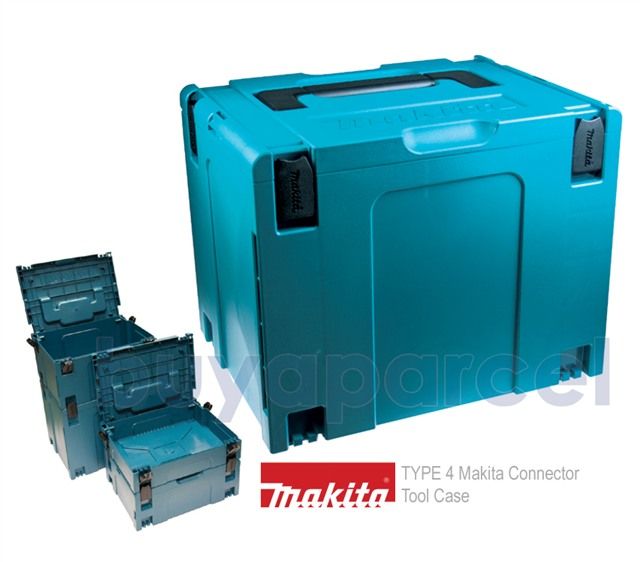 Makita MAKPAC Type 4 Router Case with Canvas Inlay Suits DRT50Z RTC0700C